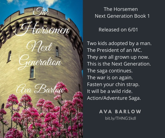The Horsemen Next Generation Book 1 Releases on 6-1